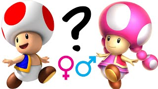 A reply to Game Theory,  Is Toad really genderless?