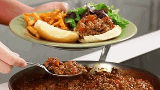 Quick & Easy Sloppy Joe Recipe