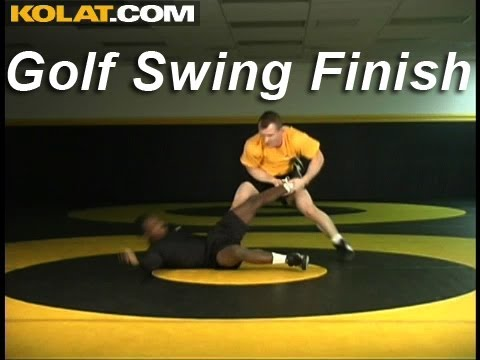 Golf Swing Hi Single Finish KOLAT.COM Wrestling Techniques Moves Instruction Image 1