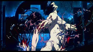 Ghost In The Shell (1995) - Major vs Tank 60fps FI - sub ESP & ENG