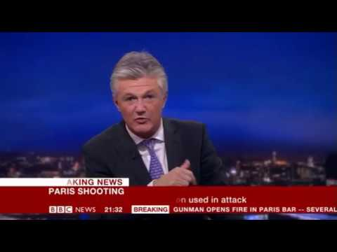 BBC Breaking News - 13/11/15 Paris Terror Attacks part 2 (9:15pm to 1am)