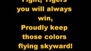 Mizzou Fight Song w/ Lyrics