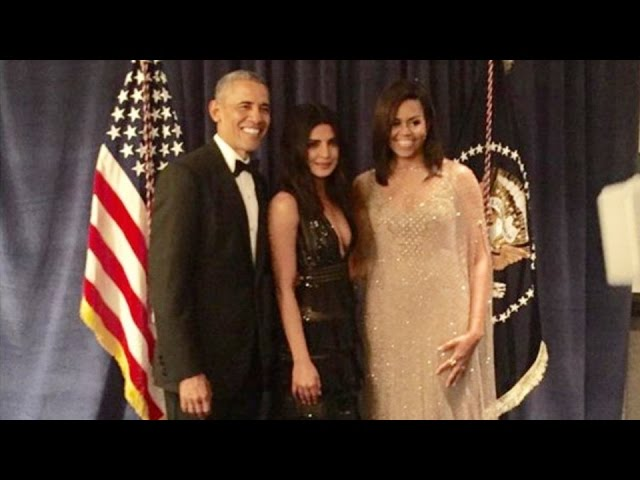Priyanka Chopra Meets Barack Obama At The White House Correspondents' Dinner!