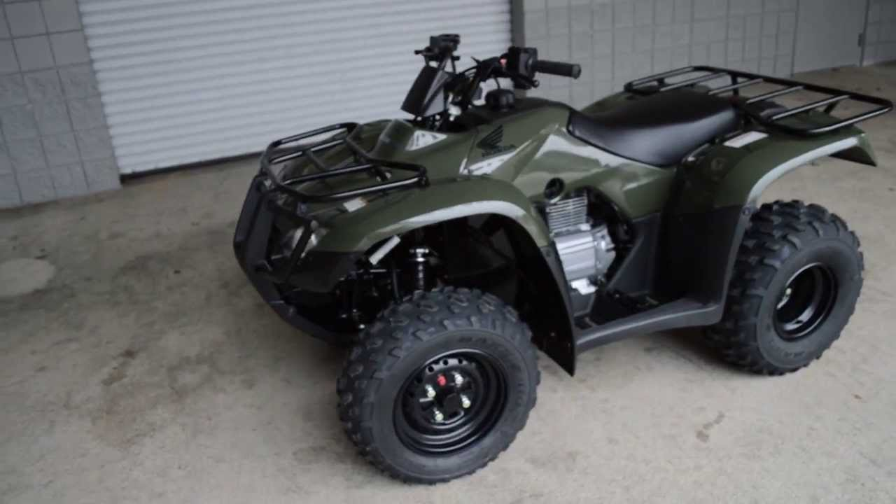 Honda Recon For Sale >> 2014 TRX250TE Recon ES SALE / Honda of Chattanooga TN Four Wheeler Dealer / Green Recon ES - YouTube
