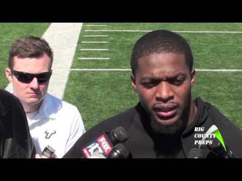 USF Sam Barrington, LB 2013 Pro Day