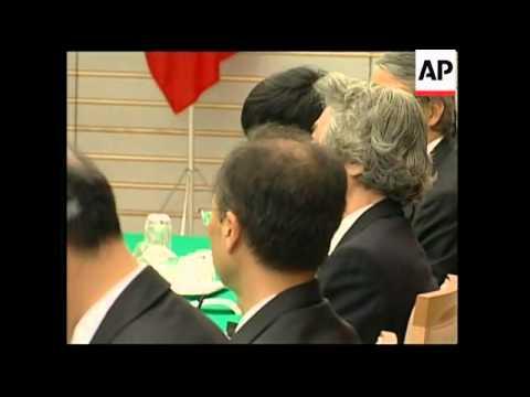 Romanian President visits Japan