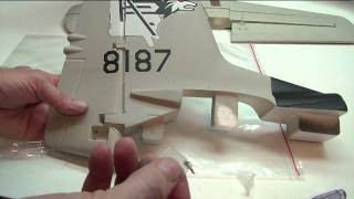 Building the Airfield 1400mm T28 by Jeff part 2