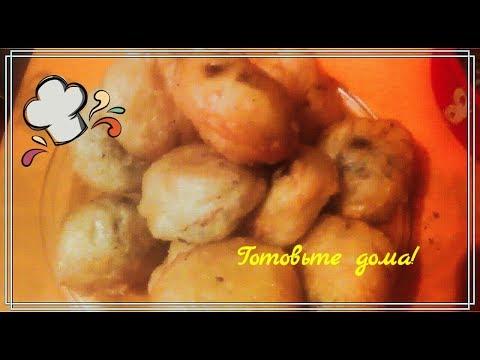 Рецепт нежных вкусных пончиков с ливером!