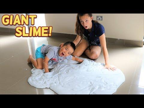 GIANT Slime Toys Surprise DIY Fun With Paw Patrol PJ Masks Ckn Toys