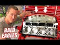 Assembling the Auction Corvette's NEW Bald Eagle Engine! + Bu...