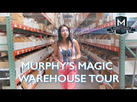 Murphys Magic Warehouse Tour  Anna DeGuzman