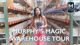 Murphy's Magic Warehouse Tour || Anna DeGuzman