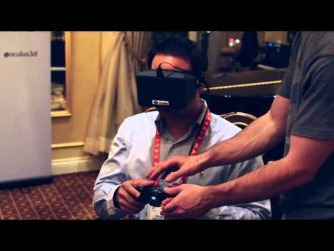 Davis Daily: CES Oculus Rift Reactions