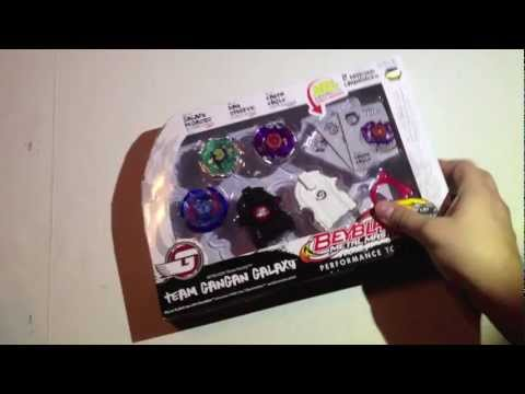 Beyblade Metal Master GanGan Galaxy Team Set Unboxing