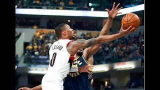 Best Of CJ McCollum, Damian Lillard From Trail Blazers Win Over Pacers | October 20, 2017