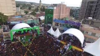Drone Footage of Ashenda 2016 Celebrations in Northern Ethiopia - Mekelle Tigray