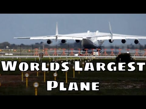 Antonov 225 Arrives in Perth