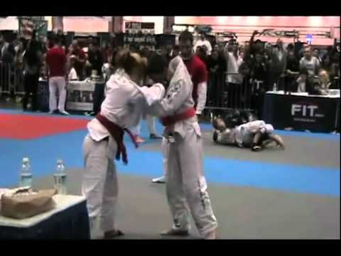 Jean-Paul LeBosnoyani Gracie Kids World 2011 With Gi Semi Final