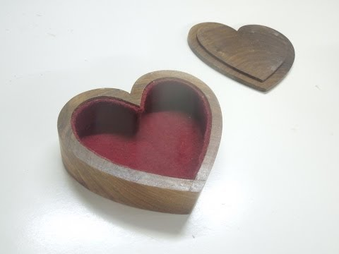 Heart-Shaped Bandsaw Boxes