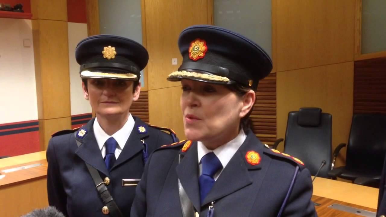 Garda Commissioner Noirin O'sullivan Garda Commissioner Noirin