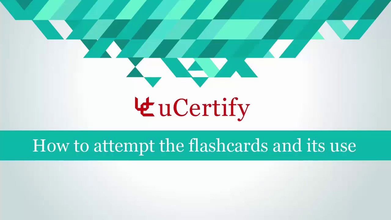 How to attempt flashcards and its use