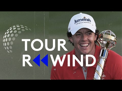 World Number 1 Rory McIlroy wins 2012 DP World Tour Championship AND Race to Dubai   Tour Rewind