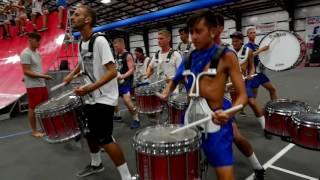 Bluecoats 2016 Drumline - On Field Battery Cam