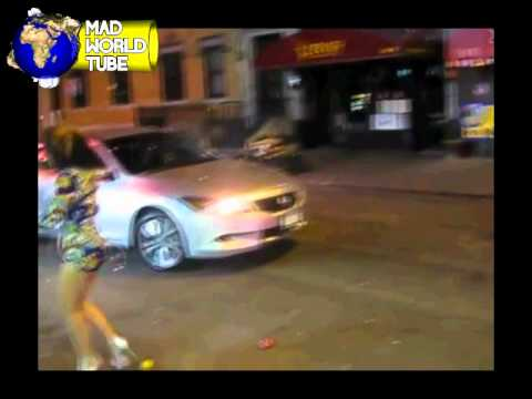Disorderly Angry Street Hookers Causing A Scene In The NYC