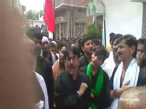 Live juloos 10th Muharram at manzil mashriqi imambargah gopalpur