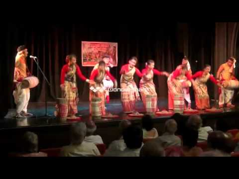 ranjit gogoi bihu dance in london