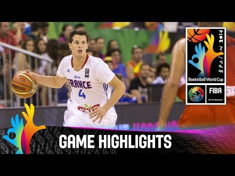 France v Egypt - Game Highlights - Group A - 2014 FIBA Basketball World Cup