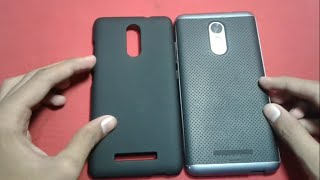 [HINDI] 2 BEST BACK COVER FOR REDMI NOTE 3 IN 135rs & 400rs