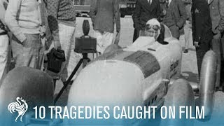10 Tragedies Caught on Film | British Pathé