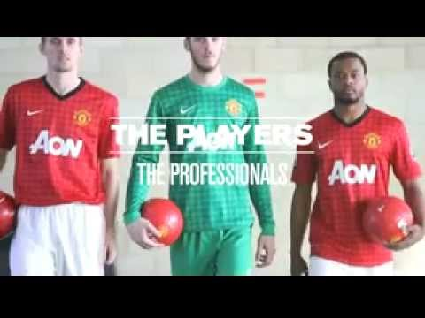 Manchester United Christmas Challenge 2012 - Patrice Evra, David De Gea, Darren Fletcher