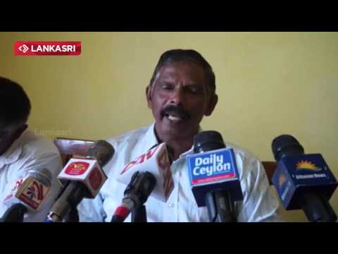 Krishnapillai Manoharan Jaffna Press Meet