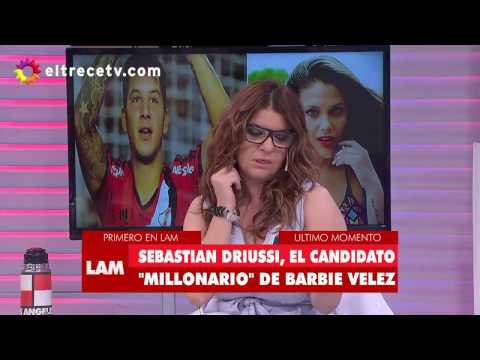 ¿Barbie Vélez, en la mira del goleador de River?