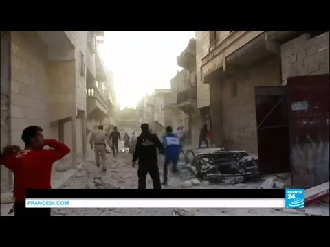 War in Syria: Intense fighting around Aleppo as peace talks resume