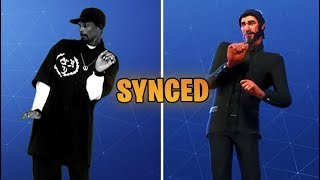 Fortnite Tidy Emote 100% Sync With Snoop Dogg Dance