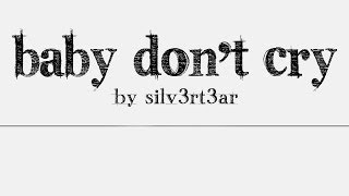 (Acoustic English Cover) EXO - Baby Don't Cry | Elise (Silv3rT3ar)