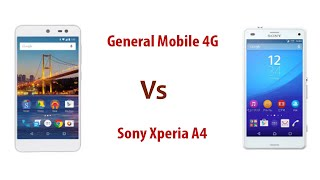 General Mobile A1 4G vs Sony Xperia A4 Comparision