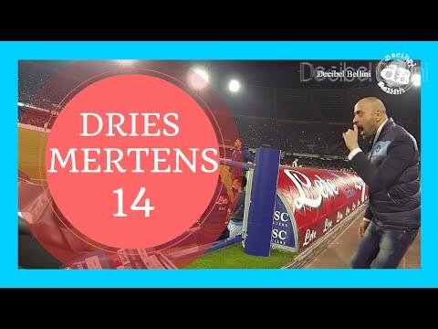 Dries Mertens Napoli Juventus BOATO tifosi del Napoli 11 volte/11 times its name Naples supporters