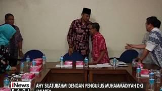 AHY Bersilaturahmi Dengan Pengurus Muhammadiyah DKI - INews Pagi 17/01