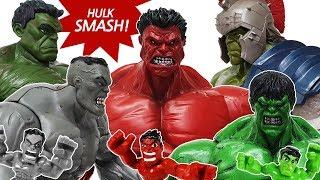 Hulk Smash Toys Collcections Episode 2. Go~! Avengers, Spider Man, Iron Man, Captain America