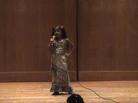 Harveen performing Tauba Tauba from Kaal at Asha Talent Show