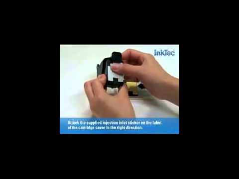 HP 60, 60XL Black Ink Cartridge - Refill Instructions - Ink Refill Instructions