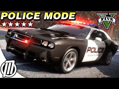 GTA 5 Police Mods: Arrest & Pursuit Gameplay!!  GTA V LSPDFR Live Stream 1080p
