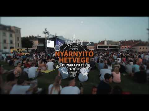 Halott Pénz - Győri nyár koncert aftermovie