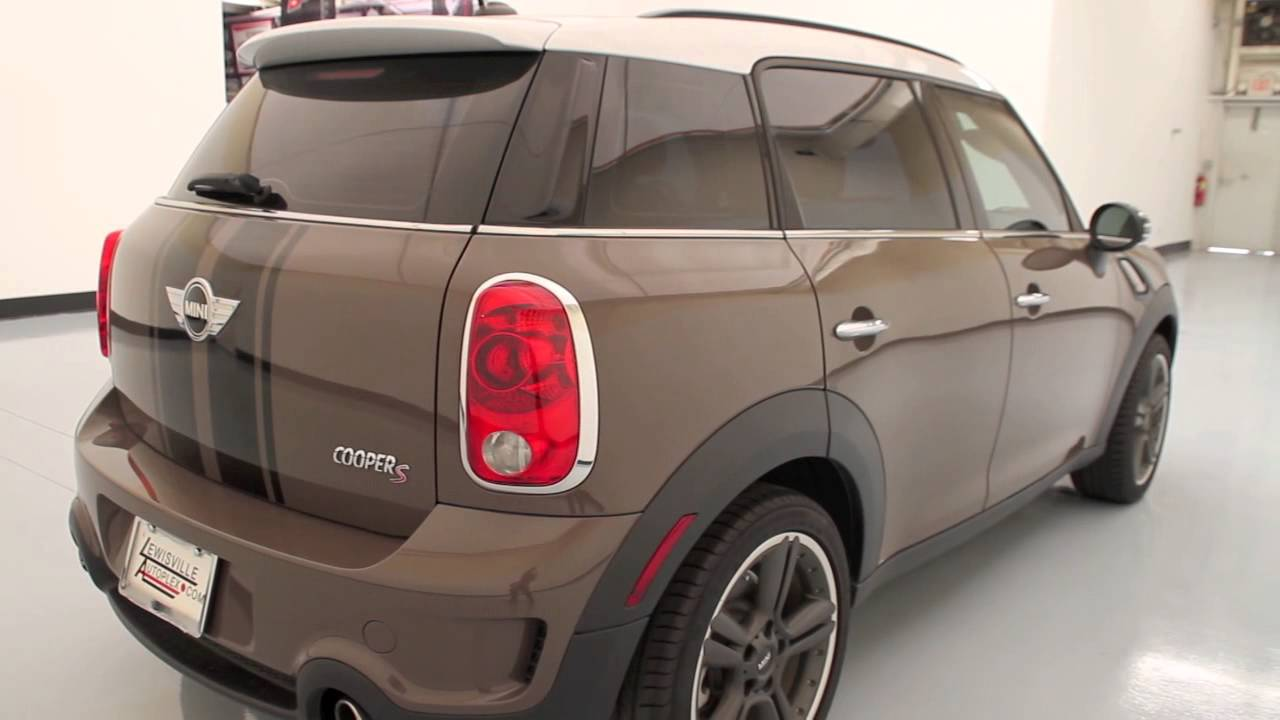 2012 mini cooper countryman s used cars dallas youtube. Black Bedroom Furniture Sets. Home Design Ideas