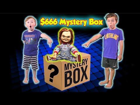666 SCARY Ebay Mystery Box Unboxing Challenge! Dont Open It  DavidsTV