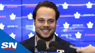 Auston Matthews Signs 5-Year Contract Extension | FULL Press Conference
